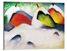 Alu-Dibond  Hocken in the Snow - Franz Marc