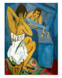 Ernst Ludwig Kirchner - Woman in front of the Mirr
