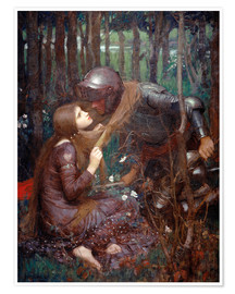 Poster  La Belle Dame sans Merci - John William Waterhouse