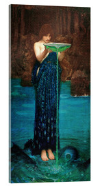 Tableau en verre acrylique  Circe Invidiosa - John William Waterhouse