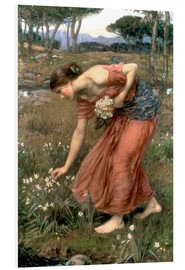 Tableau en PVC  Narcisse - John William Waterhouse