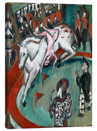 Toile  Circus Rider - Ernst Ludwig Kirchner