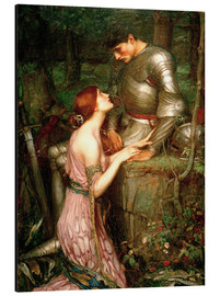 Tableau en aluminium  Lamia - John William Waterhouse