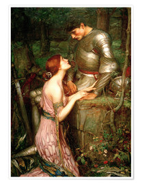 Poster  Lamia - John William Waterhouse