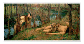 Poster  Naïade - John William Waterhouse