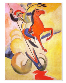 Poster  Saint George - August Macke