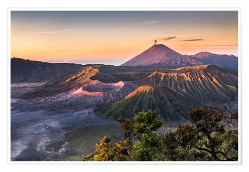 Poster Mount Bromo Sunrise