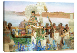 Tableau sur toile  The Finding of Moses by Pharaoh's Daughter - Lawrence Alma-Tadema