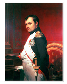 Poster Napoleon in his Study