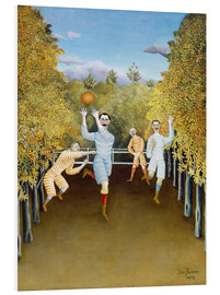 Forex  the football players - Henri Rousseau