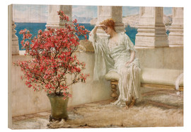 Bois  Her eyes are with her thoughts and they are far away - Lawrence Alma-Tadema