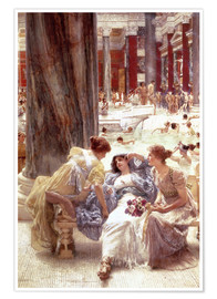 Lawrence Alma-Tadema - The Baths of Caracalla