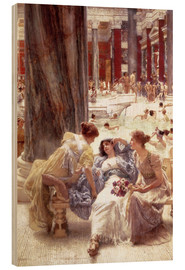 Bois  The Baths of Caracalla - Lawrence Alma-Tadema