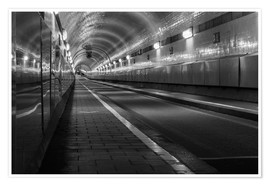 Poster  Vieux tunnel sous l'Elbe - Dennis Stracke