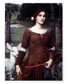 Poster  Lady Clare - John William Waterhouse