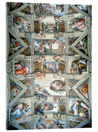 Michelangelo - Sistine Chapel ceiling and lunettes