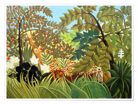 Poster Paysage exotique