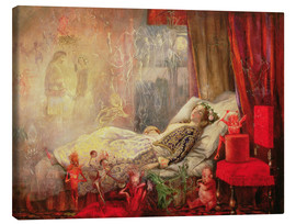 Toile  The Stuff that Dreams are Made Of - John Anster Fitzgerald
