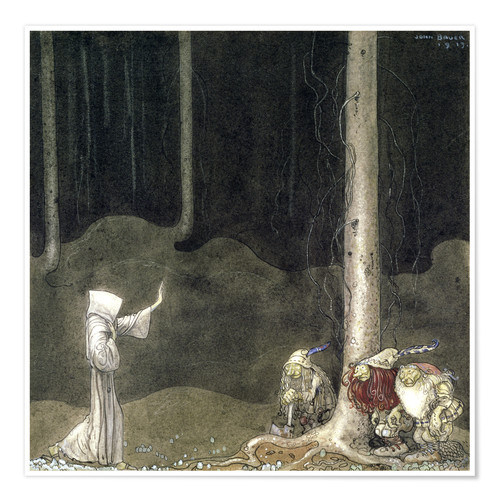Poster Brother St. Martin and the Three Trolls