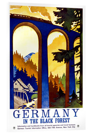 Tableau en verre acrylique  Germany, in the black forest - Travel Collection