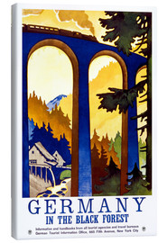 Toile  Germany, in the black forest