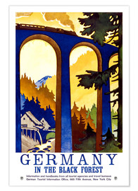 Poster  germany - black forest