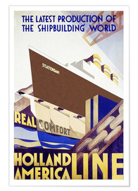 Poster  Holland America Line - Travel Collection