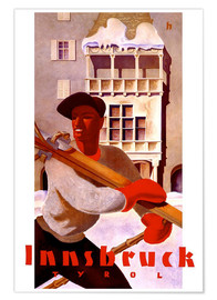 Poster  Innsbruck, Tyrol - Travel Collection