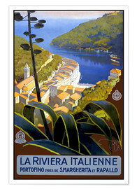 Poster  La Riviera Italienne - Travel Collection