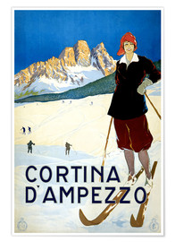 Poster  Cortina d'Ampezzo - Travel Collection
