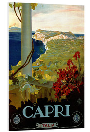Tableau en PVC  Italie - Capri - Travel Collection