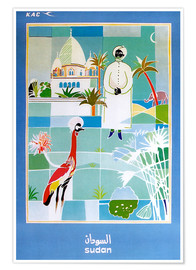 Poster  Sudan Vintage travel - Travel Collection