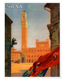 Poster  Sienne en Toscane, Italie - Travel Collection