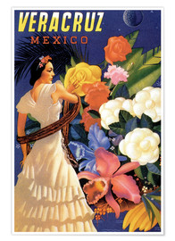 Poster  Veracruz, Gulf of Mexico - Travel Collection