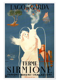 Poster  Terme Sirmione au Lago di Garda, Italie - Travel Collection
