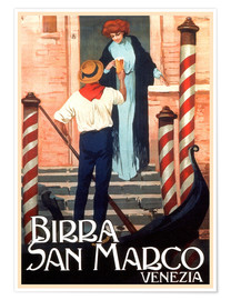 Poster  Venise - Birra San Marco - Travel Collection
