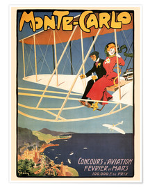 Poster Flying over Monte Carlo