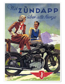 With Zündapp over the hills