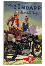 Bois  With Zündapp over the hills