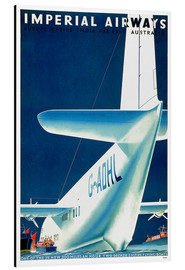 Alu-Dibond  Imperial Airways - seaplane