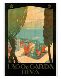 Poster  Italy - Riva del Garda - Travel Collection