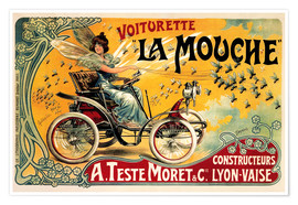 Poster  Voiturette La Mouche - Advertising Collection