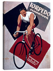 Tableau sur toile  Torpedo Bikes - Advertising Collection