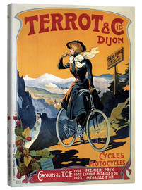 Toile  Terrot & Cie Dijon bicycles and motorcycles