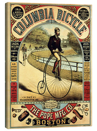 Tableau sur toile  Columbia Bicycle