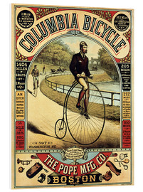 Tableau en PVC  Columbia Bicycle - Advertising Collection
