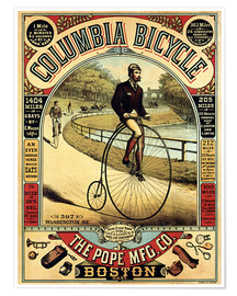 Poster  Columbia Bicycle - Advertising Collection