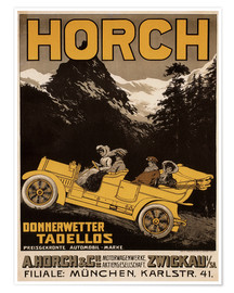 Poster  Voirture Horch - Donnerwetter tadellos - Advertising Collection