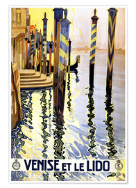 Poster  Venise et le Lido - Travel Collection