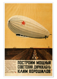 Poster  Russian Zeppelin - Travel Collection